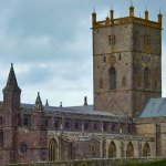 St Davids Cathedral - the largest cathedral in Wales in Britain's smallest city.