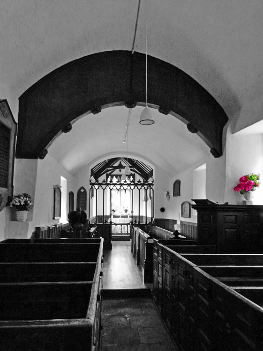 Lorna Doone, Oare Church, Somerset