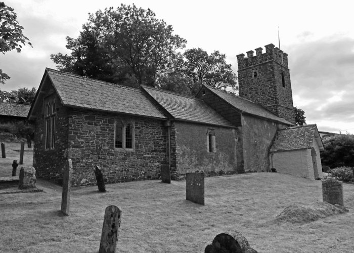 Oare Church, Somerset, Lorna Doone