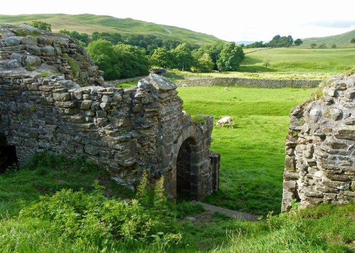 Pendragon Castle, Mallerstang, Cumbria