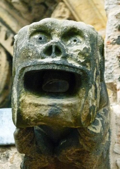 Rosslyn Chapel, gargoyle