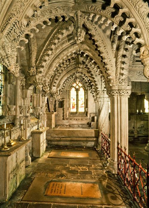 Rosslyn Chapel, the Lady Chapel