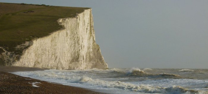 Seven Sisters, beach at Cuckmere Haven, East Sussex