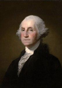 George Washington, portrait, Gilbert Stuart