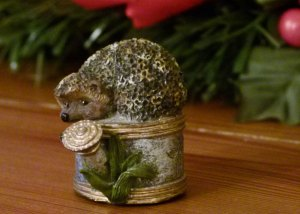 A Bit About Britain's Christmas hedgehog, Christmas magic