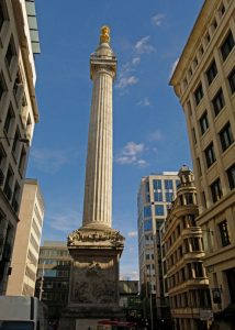 Monument, Great Fire, 1666, Anniversaries, 2016