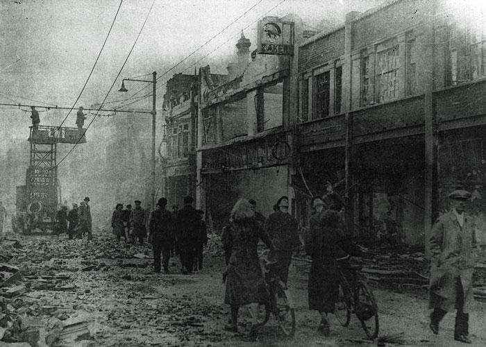 Portsmouth, Blitz, 1941