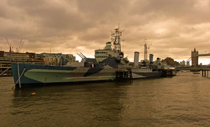 HMS Belfast, London Bridge, Imperial War Museum