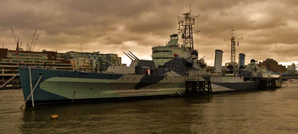 HMS Belfast, London Bridge, Imperial War Museum