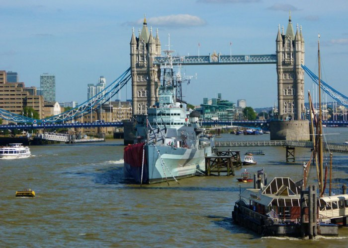 HMS Belfast, London Bridge, Tower Bridge