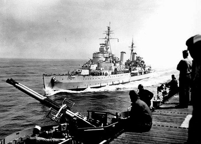 HMS Belfast, Korea, War, USS Bataan