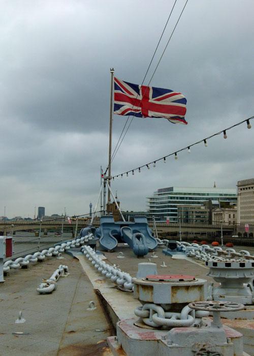 HMS Belfast, River Thames, Royal Navy, ship