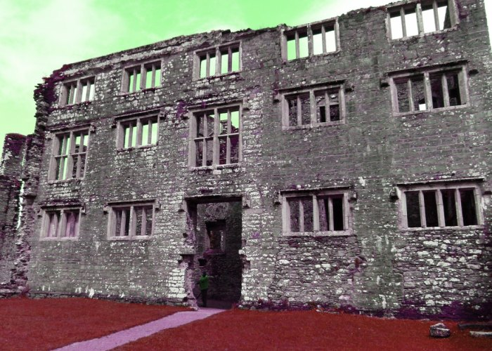 Berry Pomeroy, haunted, Jacobean mansion