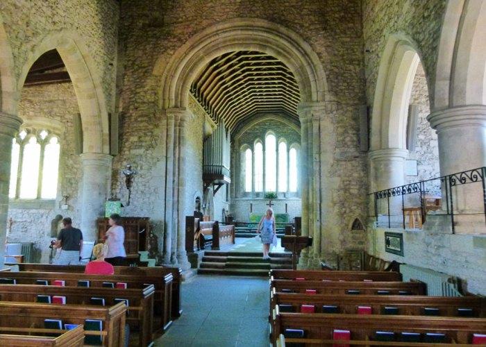 Holy Trinity, Bosham, chancel arch