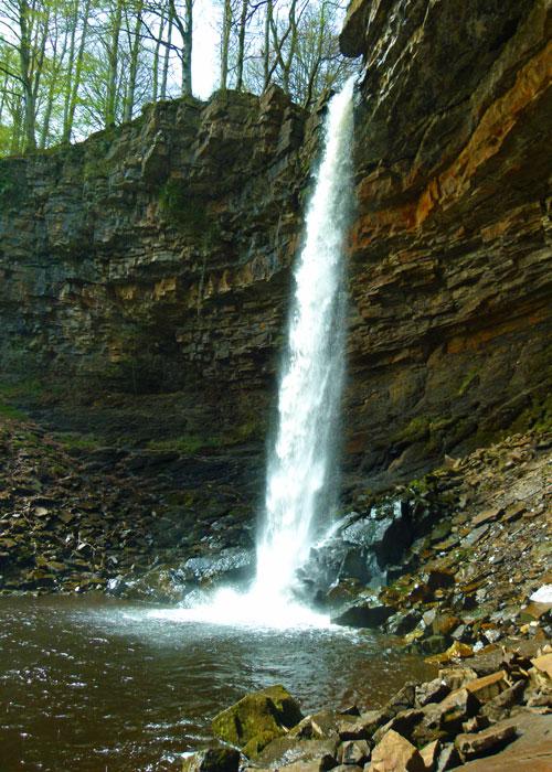 Hardraw, Force, waterfall, Green Dragon, pub