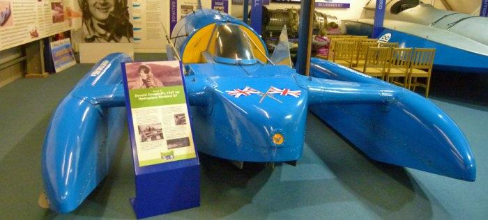 Bluebird K7, Lakeland Motor Museum, Anniversaries 2017