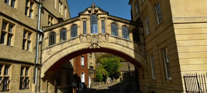 Hertford Bridge, Oxford, Anniversaries, 2017