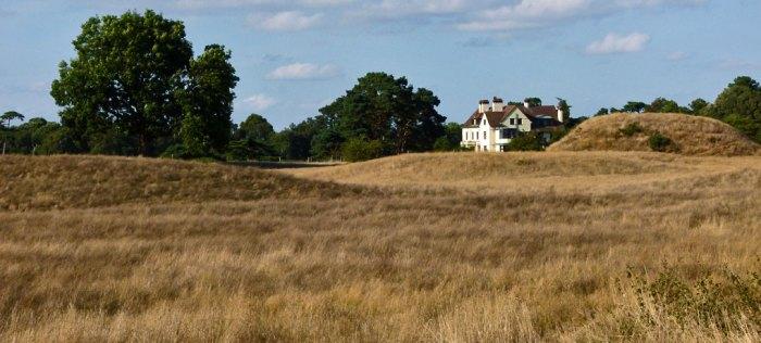 Sutton Hoo, burial ground, Tranmer House