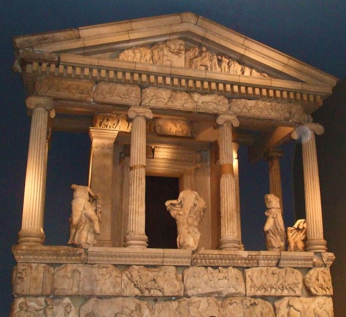 Nereid Monument (tomb), early 4th century (Turkey)
