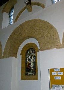 Brixworth, Saxon, Roman, brickwork