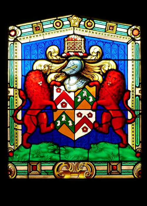Phelips, coat of arms, Montacute