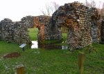 Ravenglass, Roman bath house, Cumbria