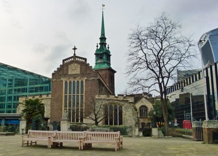 ALL HALLOWS by the TOWER