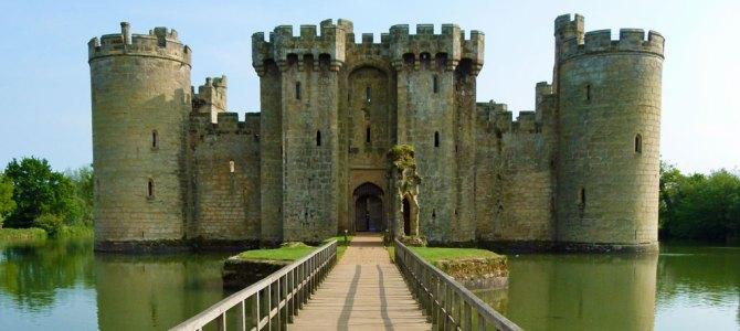 Beautiful Bodiam Castle