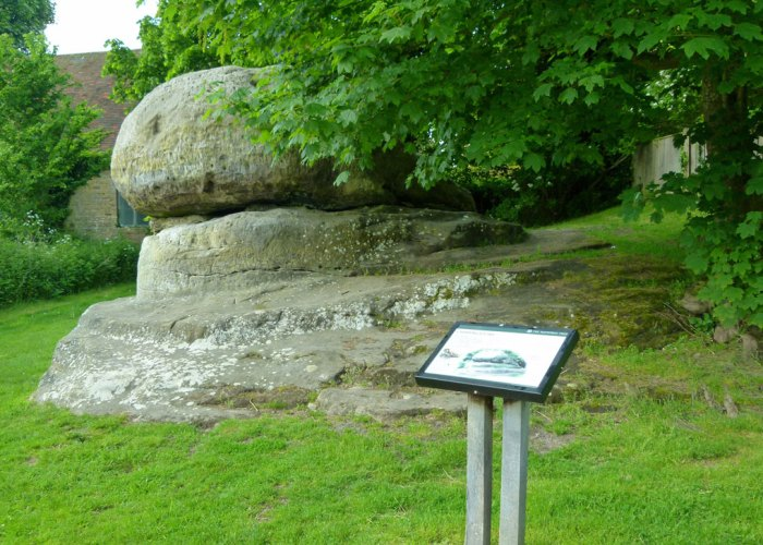 The Chiding Stone, Chiddingstone, Kent