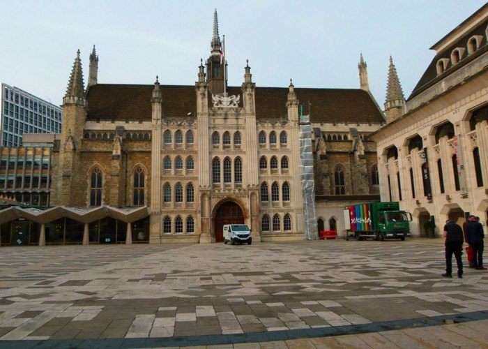 Guildhall, London, amphitheatre