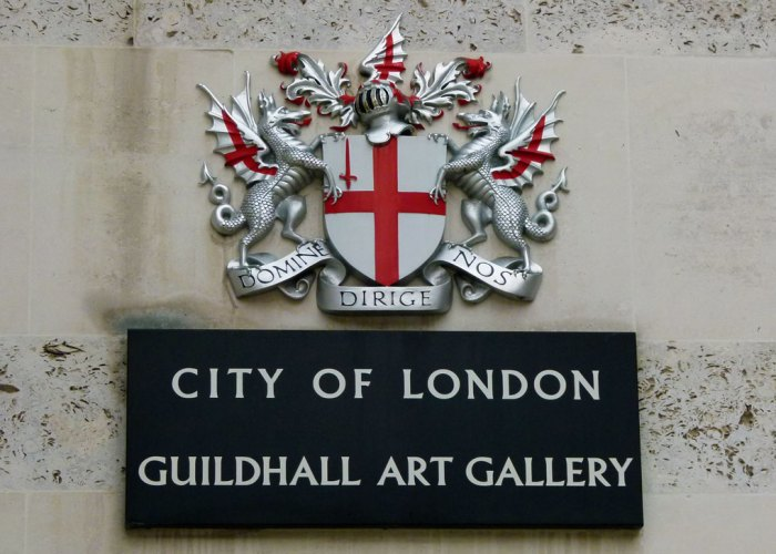 Guildhall Art Gallery, City of London