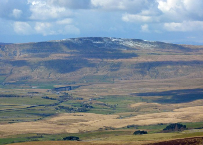 View of Whernside from Pen-y-Ghent, Ribblehead