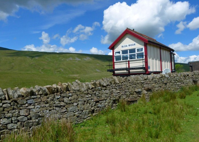 Blea Moor, signal box, Whernside, Yorkshire Dales