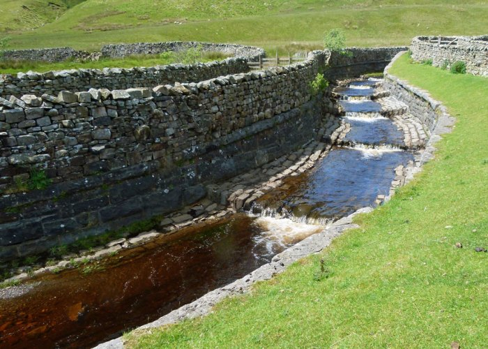 Force Gill, aqueduct, Whernside, Yorkshire Dales