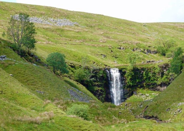 Force Gill, waterfall, Whernside