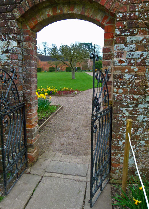 Brick walled garden, 18th century