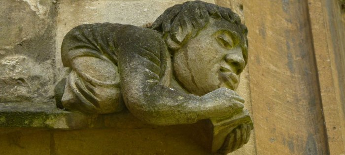 Grotesque, Balliol, oxford
