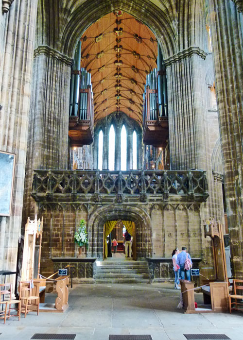 Glasgow Cathedral, nave and pulpitum