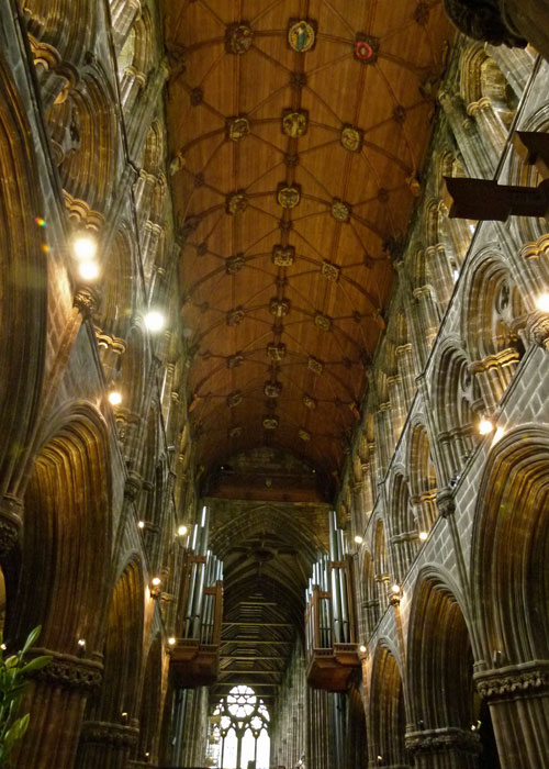 Glasgow Cathedral, chancel roof