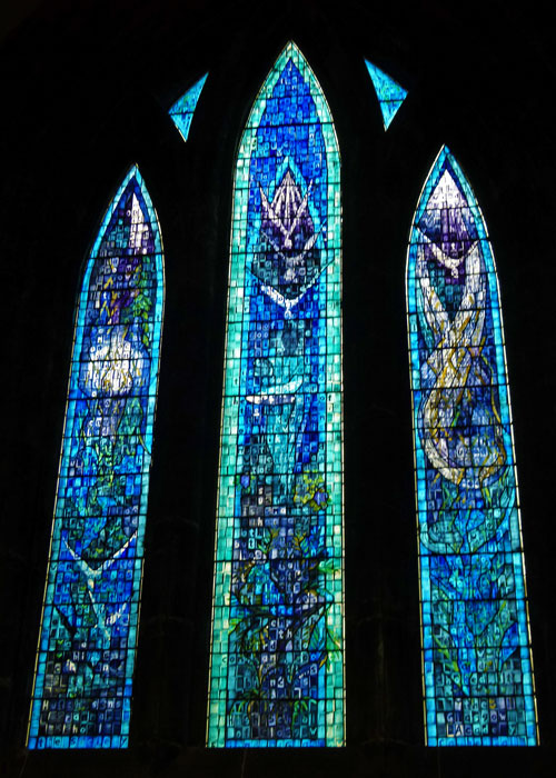 Glasgow, Cathedral, Millennium Window