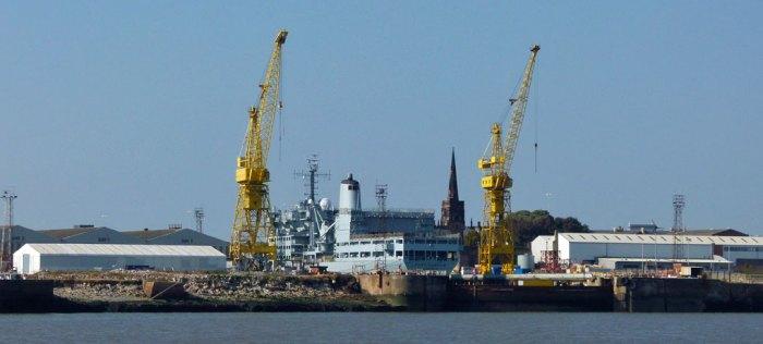 Shipbuilding, Merseyside, Fort Rosalie, Cammell Laird, Birkenhead
