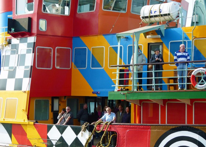 Peter Blake, Everybody Razzle Dazzle, Mersey ferry