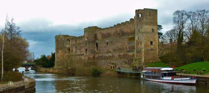 The castle at Newark-on-Trent