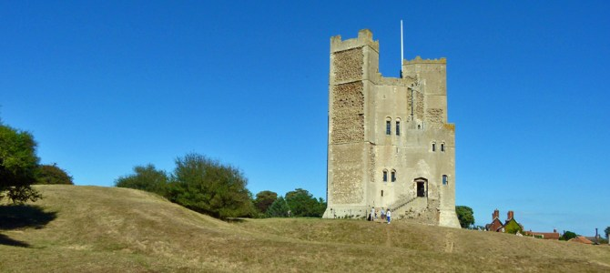 Orford Castle – and a merman