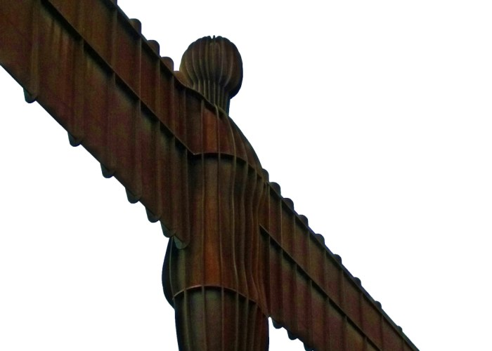 The Angel of the North, Gateshead. steel man
