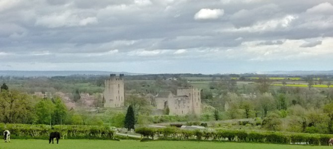 Helmsley Castle and a canter through British history