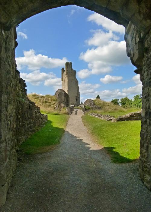 Castles, Yorkshire, England, Helmsley