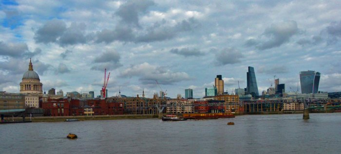 London, skyline, Visit Britain