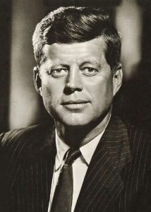 3th President, USA, John Fitzgerald Kennedy