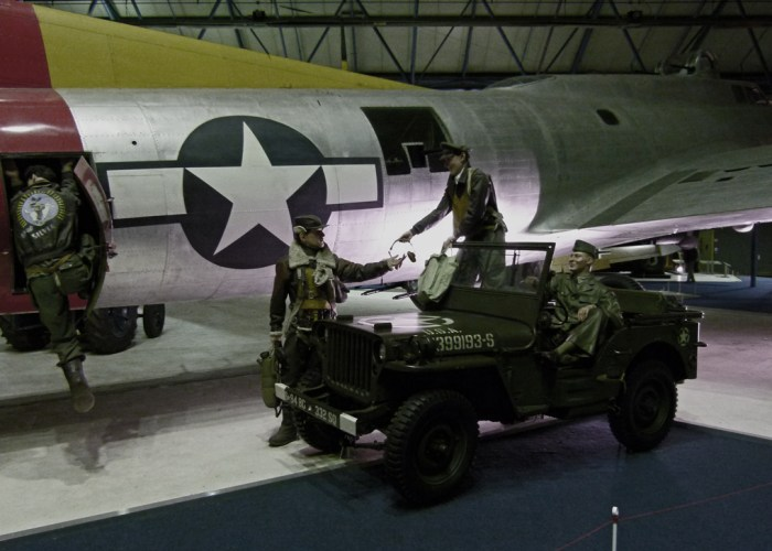 B17, Flying Fortress, US, bomber, RAF Hendon, aviation museum, London